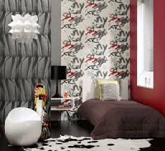 Wallpaper For Bedroom Walls Black Color Bedroom Wall Decorating For Teens