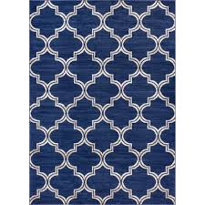 well woven sydney lulu u0027s lattice trellis navy blue 5 ft 3 in x 7