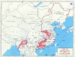 World War Ii Maps by Operation Ichigo April December 1944 And Situation 31 December