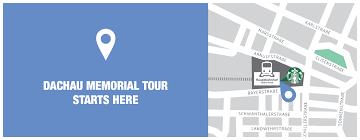 Starbucks Map Dachau Concetration Camp Memorial Tour Sandemans New Munich Tours