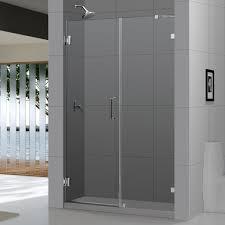 Non Glass Shower Doors by Bathroom Frameless Non Glass Shower Doors Glass Tub Doors 36