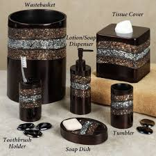 bathroom enticing black modern bathroom accessories ideas