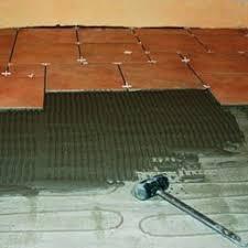 installation d une trame chauffante électrique au sol