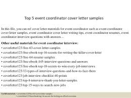 event coordinator resumes event coordinator cover letters paso evolist co