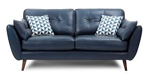 Blue Leather Sofa by New Blue Leather Sofa Bed 54 For Your Home Decoration Ideas With