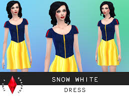 sims4krampus u0027 snow white dress
