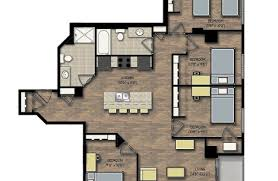 4 Bedroom Apartment by Boardwalk Investments City View Sample Floor Plans Boardwalk