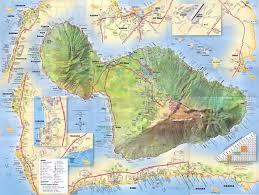 Hawaii Big Island Map Maiu Detailed Street Map Maui Hi U2022 Mappery