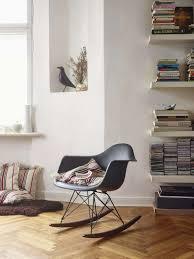 eames plastic arm rocking chair rar vitra