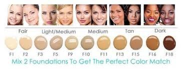 light medium skin tone tru color match tru airbrush cosmetics llc