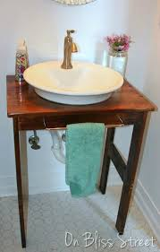 Replace Bathroom Vanity by 11 Low Cost Ways To Replace Or Redo A Hideous Bathroom Vanity