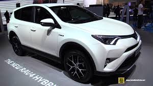site da toyota 2016 toyota rav4 hybrid exterior and interior walkaround 2015