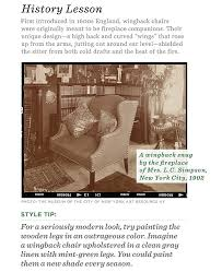 Chair Styles Guide The Essential Guide To The Wingback Chair One Kings Lane