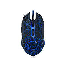 light up wireless gaming mouse 6 button 2400dpi adjustable usb wired mouse breathing led night
