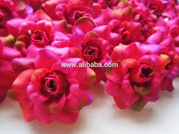 Burgundy Roses High Quality Artificial Silk Flowers Burgundy Rose Heads For