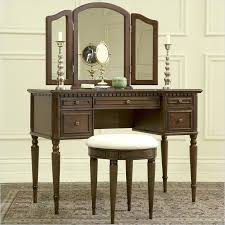 Lighted Makeup Vanity Table Vanity Table With Mirror And Bench U2013 Amarillobrewing Co