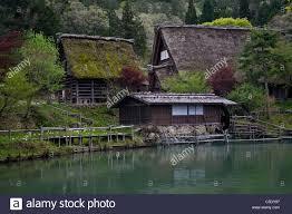 traditional japanese farm houses preserved at hida no sato folk
