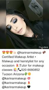 makeup classes arizona romero makeup artist photogrid certified