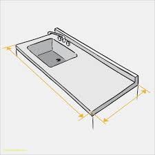 plan de travail cuisine inox sur mesure dimension plan de travail cuisine beau home inox fabrication d un
