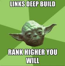 Link Meme - the pain of link building in memes nichemarket