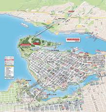 Map Of Vancouver Canada 3d Mobimaps Map Guides Vancouver Maps