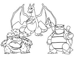 mega charizard coloring pages free printable kids