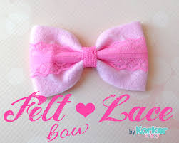 hair bow center diy felt and lace bow tie hair bow tutorial the hairbow center