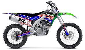 kawasaki motocross jersey kawasaki u0027stars and stripes u0027 kit rival ink design co custom