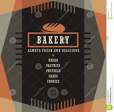 sle menu design templates bakery menu template