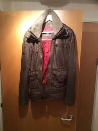 superdry er harrington leather jacket mens brown superdry t shirts myntra superdry dresses vintage thrift reasonable