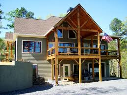 walkout ranch house plans house plan bedroom craftsman lake home walkout basement rustic