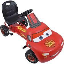 lighting mcqueen pedal car disney cars lightning mcqueen ride on pedal go kart