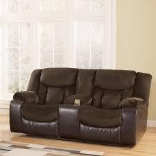 signature design by ashley bay double reclining sofa u0026 reviews