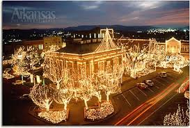 fayetteville square christmas lights arkansas scenery real estate agent broker buying and selling