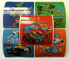 Rescue Bots Favors by 15 Transformers Rescue Bots Stickers Favors Supply