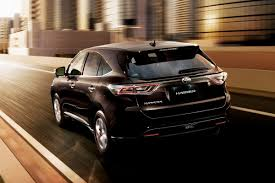 lexus jdm toyota reintroduces lexus rx based harrier crossover in japan w