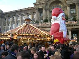 frankfurt german christmas market at birmingham youtube