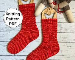 Knitted Chandelier Earrings Pattern Pdf Knitting Pattern Etsy