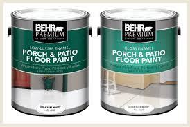 colorfully behr painted floors
