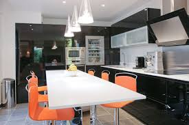 deco cuisine noir et gris décoration cuisine noir et gris déco sphair