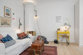 soothing ambience inspired by small one room apartment in