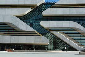 bmw showroom zaha hadid prize winning architect zaha hadid dies wsj