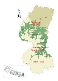 Nepal World Map Nepal Red Panda Project Icfc