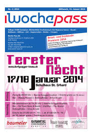 woche pass kw 3 15 januar 2014 by woche pass ag issuu