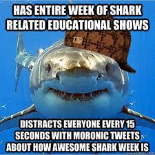 Jaws Meme - here come the shark week memes