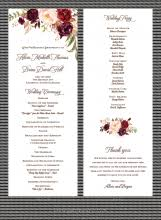 wedding programs paperwhites wedding invitations