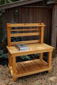 gardening bench cypress potting bench potting bench gardening bench gardening table