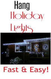 using pvc to hang lights and easy set up in