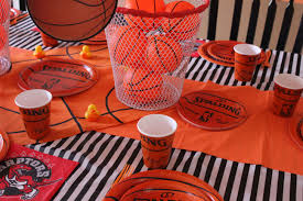 basketball party table decorations basketball party table decorations from openaparty com basketball