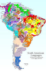 a map of south america titus didactica language map south america map frame